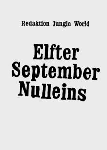 Elfter September Nulleins